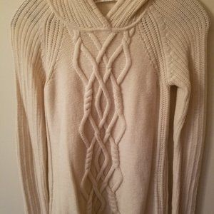 Athleta Merino Wool Pullover Hoodie Sweater